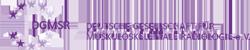 Logo Deutsche Gesellschaft für muskuloskelettale Radiologie e.V. (DGMSR)